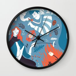 Travel & Adventure: Nature Wall Clock
