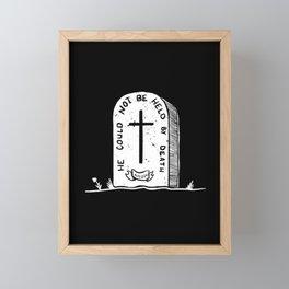 FREE FROM DEATH Framed Mini Art Print