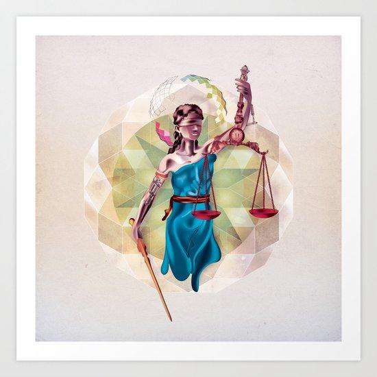 Themis Art Print