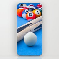gaming iPhone & iPod Skins featuring Gaming Table by Valerie Paterson