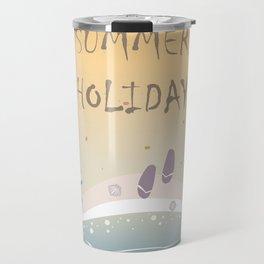 Summer Holiday Travel Mug