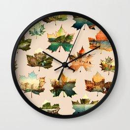 Memory in Leaves Wall Clock