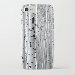 Aspen Tree Maze iPhone Case
