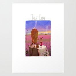 Ivan chai Art Print