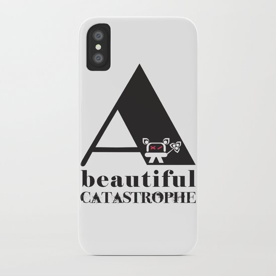A Beautiful Catastrophe iPhone Case