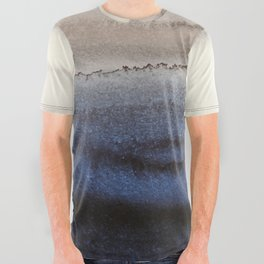 WITHIN THE TIDES WINTER BLUES by Monika Strigel All Over Graphic Tee