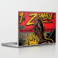 zombie Laptop & iPad Skins featuring Zombie by Demones