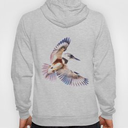 Colorful Kingfisher Hoody