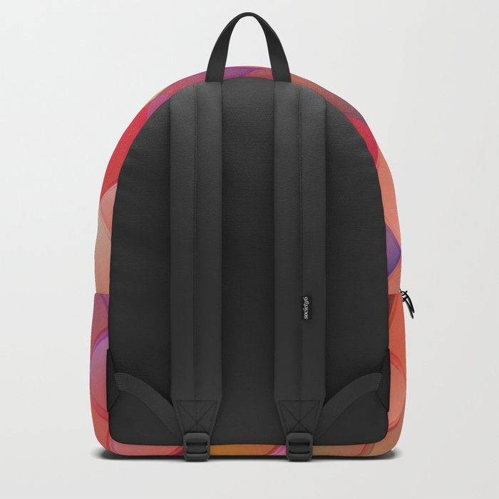 Pattern with pink squares.Trendy hipster print. Modern graphic design. Backpack