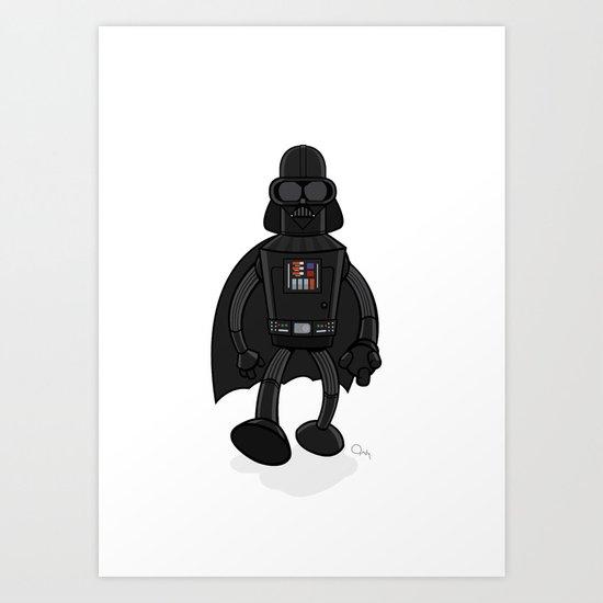 Darth Bender Art Print