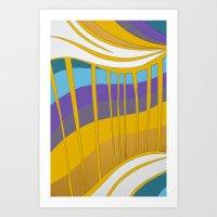 leah flores Art Prints featuring Leah by Jackie Elefante