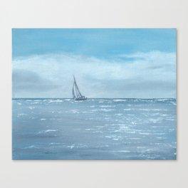 Newport Beach Sailing Canvas Print