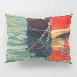 Red Boat Pillow Sham
