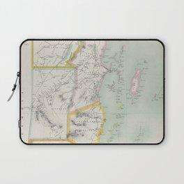 Vintage Map of Belize (1921) Laptop Sleeve