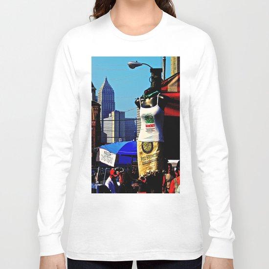 Strip District Model Long Sleeve T-shirt