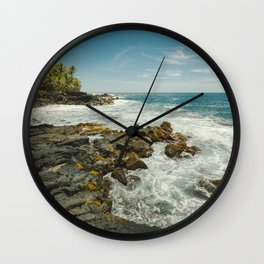 Hawaiian Ocean III Wall Clock