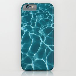 Crystal Blue Pool Water iPhone Case