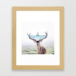 Perfect Balance Framed Art Print