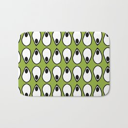 Green Dive- plongeon vers -eyes5 Bath Mat