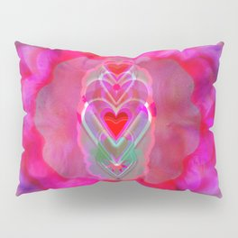 The Hearts Mantra Pillow Sham