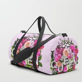 Queen Floral Bouquet Duffle Bag
