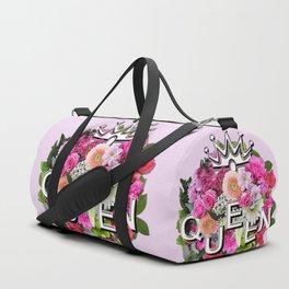 Queen Floral Bouquet Duffle Bag