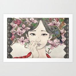 Hasta la Raíz Art Print