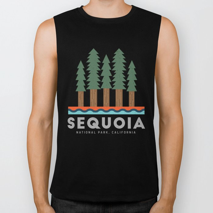 Sequoia National Park California Design for the outdoors lover! Biker Tank