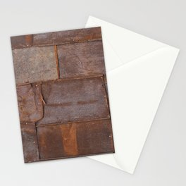 Rusty Metal Grunge Texture Stationery Cards