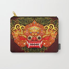 Barong, Balinese mask, Bali mask #4 Carry-All Pouch