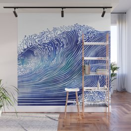 Pacific Waves Wall Mural
