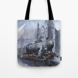 A train to Lwow Tote Bag