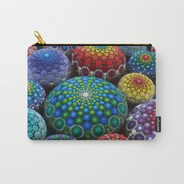 Jewel Drop Mandala Stone Collection #1 Carry-All Pouch