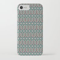 folk iPhone & iPod Cases featuring Folk by Ana Types Type