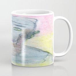 Spiritual Chalks Drawing of 16th USA President Abraham Lincoln Coffee Mug