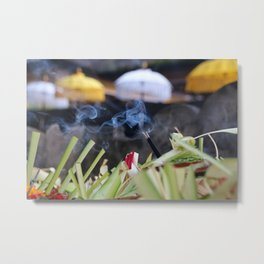 Smelling Good Metal Print