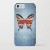 union jack iPhone & iPod Cases featuring union & jack by Steffi Louis