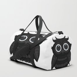 Black Owl Duffle Bag