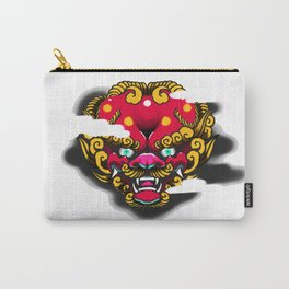 Red Foo Dog Carry-All Pouch