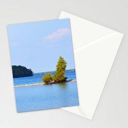 Twin Harbor on Lake Kagawong Stationery Cards