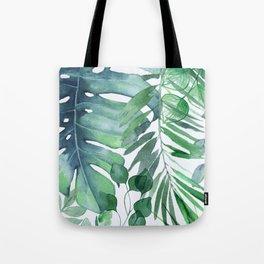 Tropical  Leaves Umhängetasche