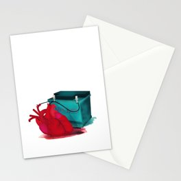 Jump start my heart Stationery Cards
