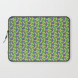 Glamorous Bananas (Green & blue) Laptop Sleeve