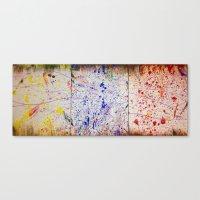 human Canvas Prints featuring Human by a vitruvian man