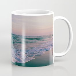 Sunset Crashing Waves Coffee Mug