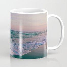 Sunset Crashing Waves Coffee Mug