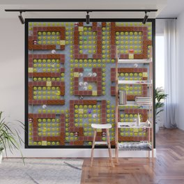 Pac-Men Bros On Clue Wall Mural