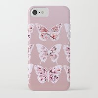 butterflies iPhone & iPod Cases featuring Butterflies by Vickn