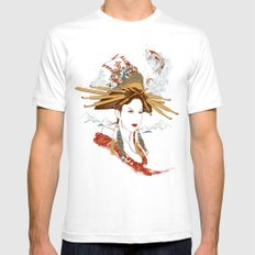 Nihonsei White SMALL Mens Fitted Tee
