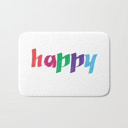 HAPPY Bath Mat